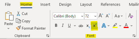File Home  X cut  v 72  Paste  Insert Design  Calibri (Body)  Format Painter  Clipboard  Layout  Font  References  Mailir